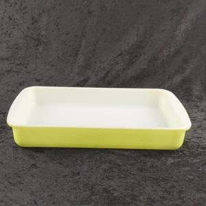 232 2quart Lime green baking pan